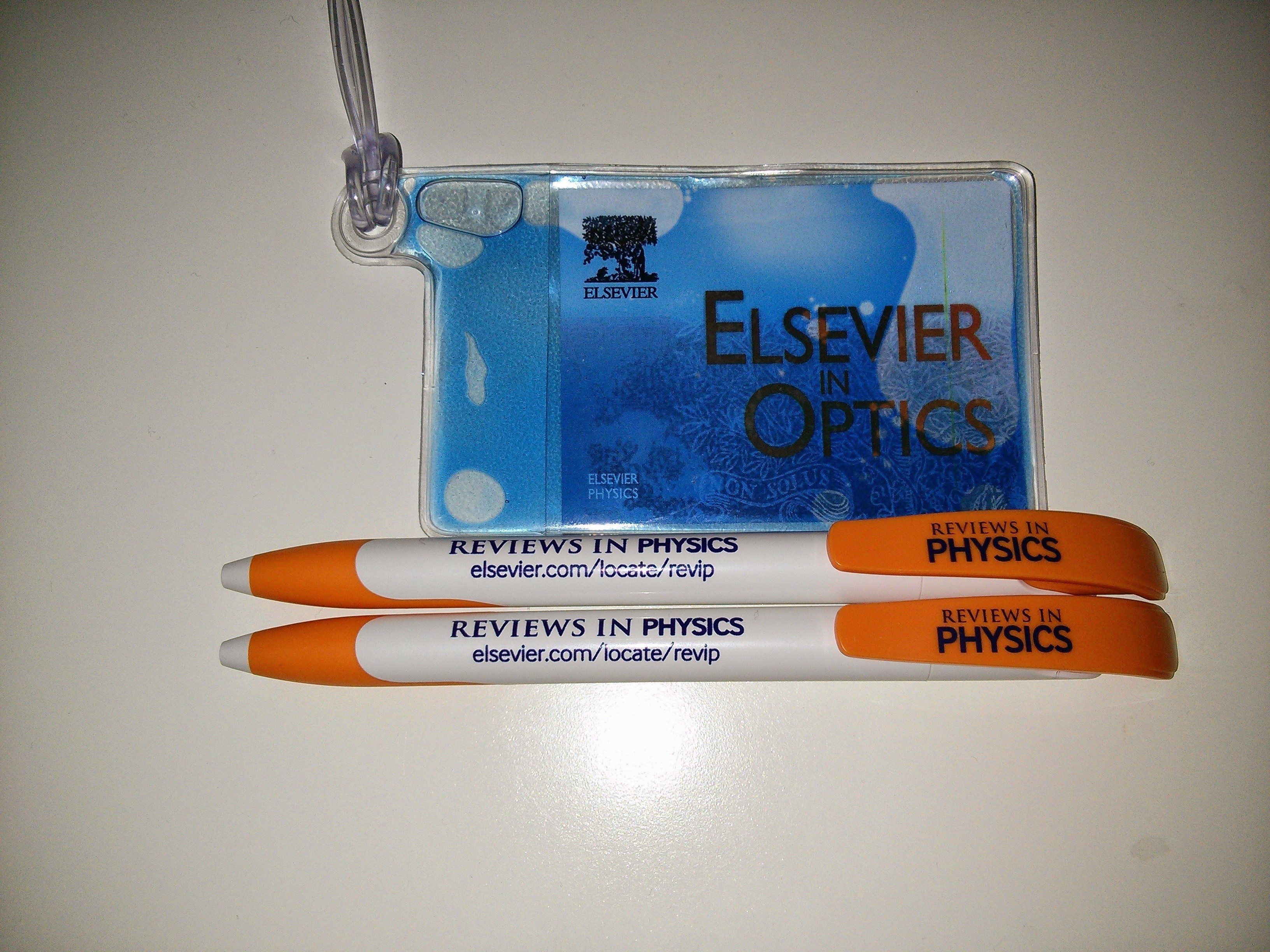 Elsevier schwag
